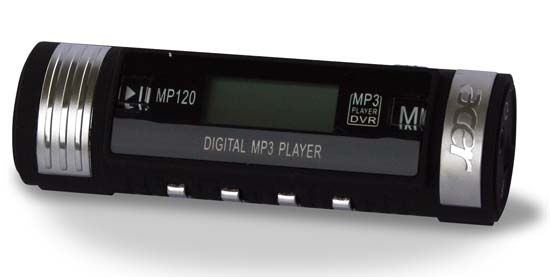 Acer MP-120 Flash MP3 PLAYER 256MB + Radio