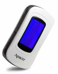 Apacer AU521 512MB MP3 player (FM, LCD)